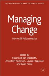 Cover Managing Change: From Health Policy to Practice