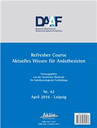 Cover Refresher Course Nr. 42