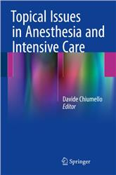 Cover Topical Issues in Anesthesia and Intensive Care