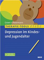Cover Therapie-Tools Depression im Kindes- und Jugendalter