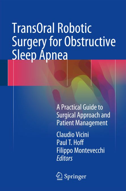 TransOral Robotic Surgery for Obstructive Sleep Apnea