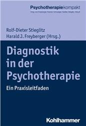 Cover Diagnostik in der Psychotherapie