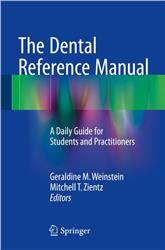 Cover The Dental Reference Manual