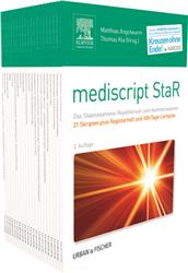Cover mediscript StaR - 21 Skripten plus Registerheft