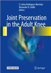 Cover Joint Preservation in the Adult Knee