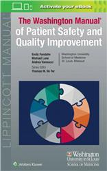 Cover Washington Manual of Patient Safety and Quality Improvement