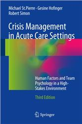 Cover Crisis Management in Acute Care Settings