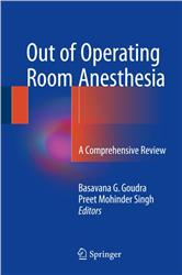 Cover Out of Operating Room Anesthesia