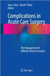 Cover Complications in Acute Care Surgery