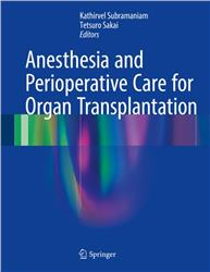 Cover Anesthesia and Perioperative Care for Organ Transplantation