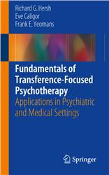 Cover Fundamentals of Transference-focused Psychotherapy