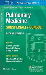 Cover The Washington Manual® Pulmonary