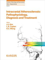 Cover Intracranial Atherosclerosis