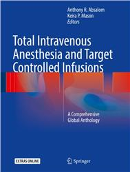 Cover Total Intravenous Anesthesia and Target Controlled Infusions