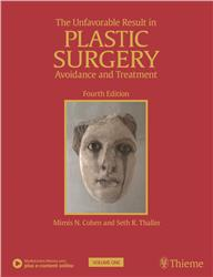 Cover The Unfavorable Result in Plastic Surgery - 2 Vol.