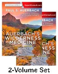 Cover Auerbach's Wilderness Medicine, 2-Volume Set