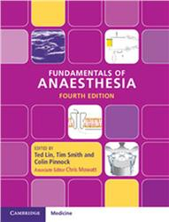 Cover Fundamentals of Anaesthesia