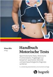 Cover Handbuch Motorische Tests