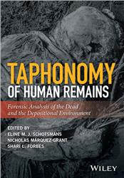 Cover Taphonomy of Human Remains: