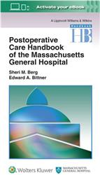 Cover Massachusetts General Hospital Postoperative Care Handbook