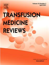 Cover Transfusion Medicine Reviews