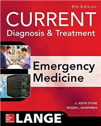 Cover Current Diagnosis and Treatment Emergency Medicine