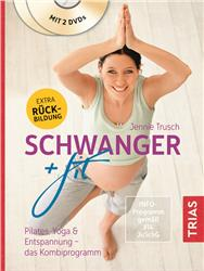 Cover Schwanger + fit / mit 2 DVDs