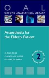 Cover Anaesthesia for the Elderly Patient