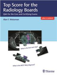 Cover Top Score for the Radiology Boards