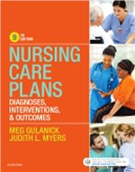 Cover Nursing Care Plans