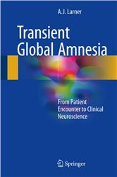 Cover Transient Global Amnesia