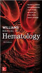 Cover Williams Manual of Hematology
