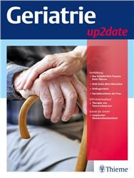 Cover Geriatrie up2date