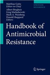 Cover Handbook of Antimicrobial Resistance