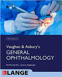 Cover Vaughan & Asbury's General Ophthalmology
