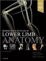Cover McMinn's Color Atlas of Lower Limb Anatomy