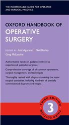 Cover Oxford Handbook of Operative Surgery