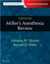 Cover Miller's Anesthesia Review