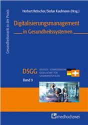 Cover Digitalisierungsmanagement in Gesundheitssystemen