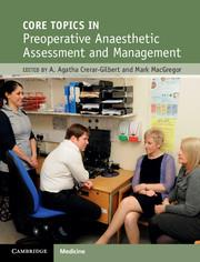Cover Core Topics in Pre-Operative Anaesthetic Assessment and Management