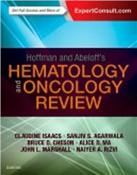 Cover Hoffman and Abeloffs Hematology-Oncology Review