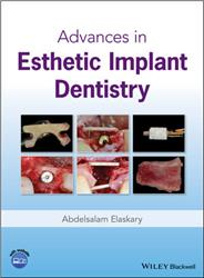 Cover Advances in Esthetic Implant Dentistry