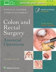 Cover Colon and Rectal Surgery: Anorectal Operations