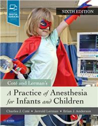 Cover Practice of Anesthesia for Infants and Children