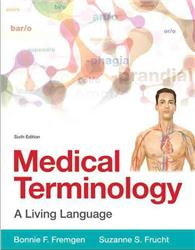 Cover Medical Terminology: A Living Language
