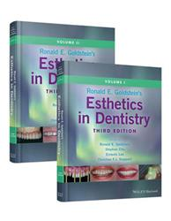Cover Ronald E. Goldstein's Esthetics in Dentistry