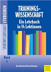Cover Trainingswissenschaft