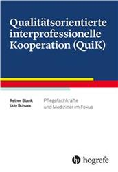 Cover Qualitätsorientierte interprofessionelle Kooperation (QuiK)
