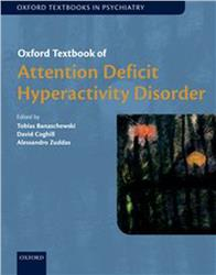 Cover Oxford Textbook of Attention Deficit Hyperactivity Disorder