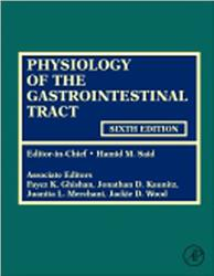 Cover Physiology of the Gastrointestinal Tract. 2 Vols.
